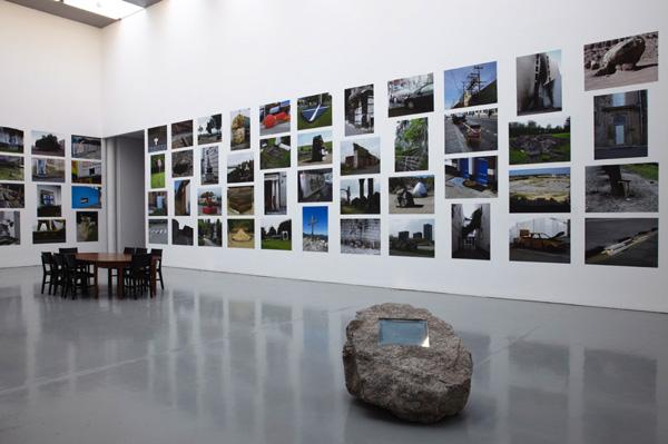 Installation View, Theatrum Orbis Terrarum, Spike Island, 2011