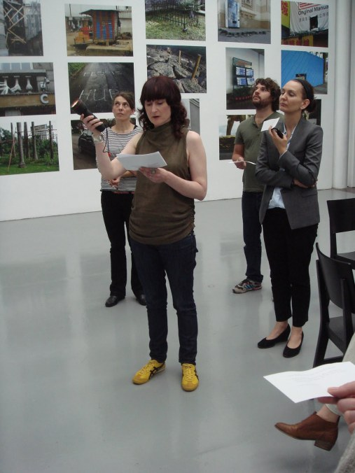 Performance Documentation, 'LUNÄ Table Discussion', Spike Island, 2011